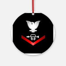 Navy PO3 Sonar Technician Ornament (Round)