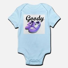 Goody Two-Shoes Purple Infant Creeper