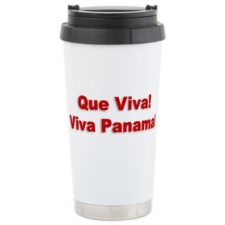 Viva Panama Stainless Steel Travel Mug