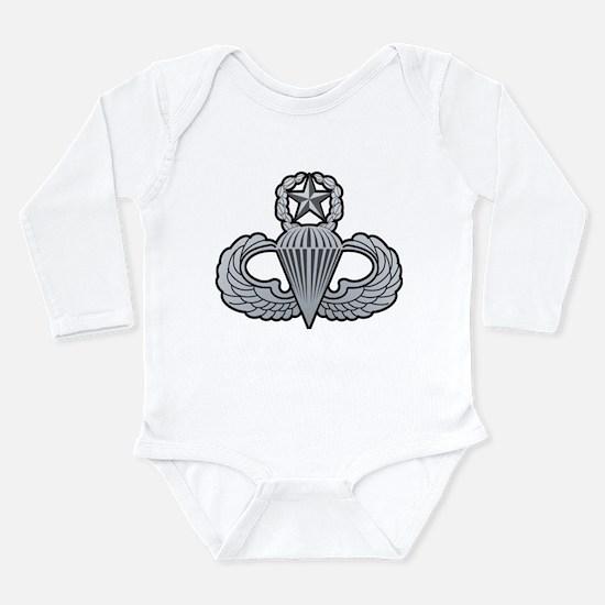 Cute Airborne 82nd Long Sleeve Infant Bodysuit