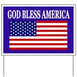 God bless america Yard Signs