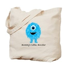 Mommys Monster Blue Tote Bag