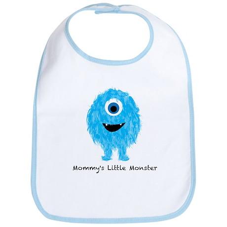 Mommys Monster Blue Bib