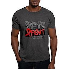 Not Going Down AIDS T-Shirt