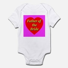 Father of the Bride Infant Creeper
