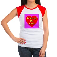 Father of the Bride Women's Cap Sleeve T-Shirt