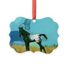 Nez Perce Pony Ornament