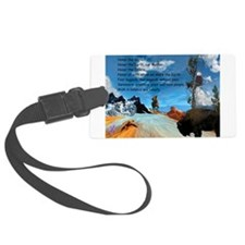 Honor Prayer Luggage Tag