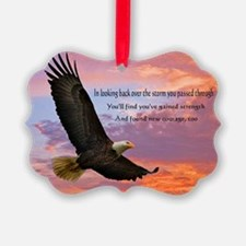 Wings Of Prayer Picture Ornament