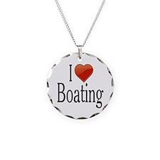 I Love Boating Necklace