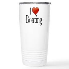 I Love Boating Travel Coffee Mug