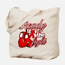 Ready For The Fight AIDS Tote Bag