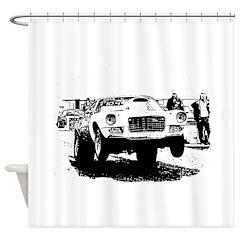 AFTM Old School Chevy.jpg Shower Curtain