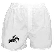 AFTM BW Jumping Horse2.jpg Boxer Shorts