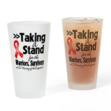 Taking a Stand AIDS Drinking Glass