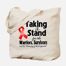 Taking a Stand AIDS Tote Bag