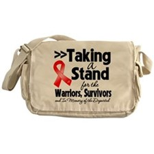 Taking a Stand AIDS Messenger Bag