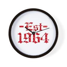 Established in 1964 Wall Clock
