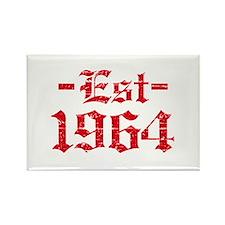 Established in 1964 Rectangle Magnet