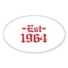 Established in 1964 Decal