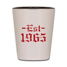 Established in 1965 Shot Glass