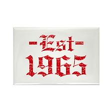 Established in 1965 Rectangle Magnet