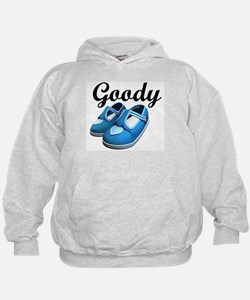Goody Two-Shoes blue Hoodie