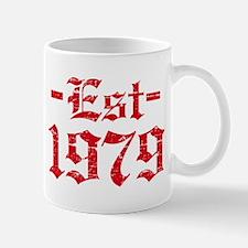 Established in 1979 Mug