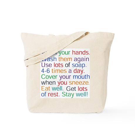 HEALTH REMINDERS Tote Bag