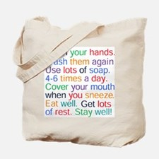 HEALTH REMINDERS Tote Bag