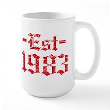 Established in 1983 Mug