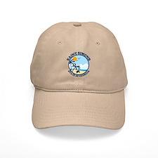 St. Simons Island - Beach Design. Baseball Cap