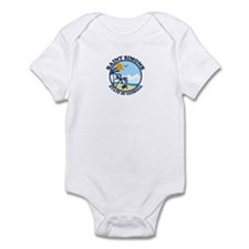 St. Simons Island - Beach Design. Infant Bodysuit