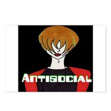 Antisocial Postcards (Package of 8)