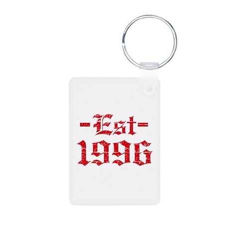 Established in 1996 Aluminum Photo Keychain