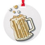 beer.png Round Ornament