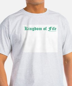 Kingdom of Fife - Ash Grey T-Shirt