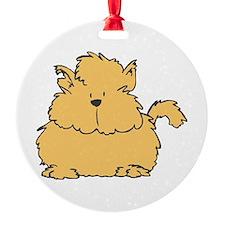 fluffy orange kitty copy.jpg Ornament