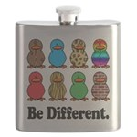 Be Different Ducks.png Flask