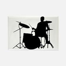 Drummer Rectangle Magnet