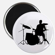 """Drummer 2.25"""" Magnet (100 pack)"""