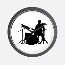 Drummer Wall Clock