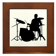 Drummer Framed Tile