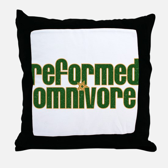 Reformed Omnivore Throw Pillow
