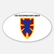 SSI - 7th Transportation Group with Text Decal