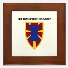 SSI - 7th Transportation Group with Text Framed Ti