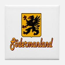 Södermanland County Tile Coaster