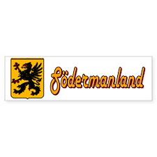 Södermanland County Bumper Bumper Sticker