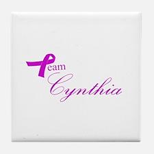 Team Cynthia Tile Coaster