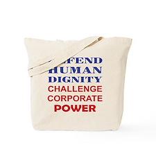 Defend Human Dignity Tote Bag